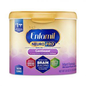 Enfamil Neuro Pro Gentlease tím hộp nhựa 567gr