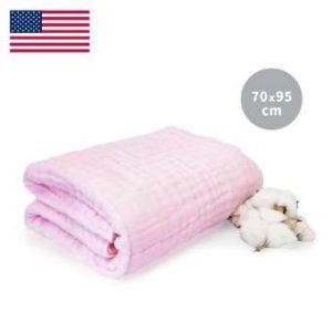 Khăn tắm L'Ange 70x95 hồng