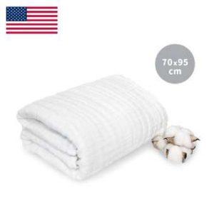 Khăn tắm L'Ange 70x95 trắng