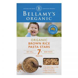 Nui sao Bellamy gạo nâu hữu cơ 7m