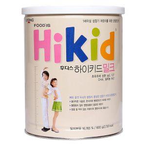 Sữa bò Hikid tăng chiều cao vani