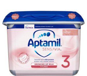 Sữa Aptamil Sensavia Anh lùn số 3
