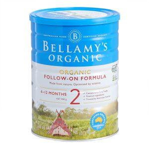 Sữa Bellamy Organic 2 lon 900gr
