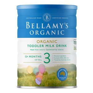 Sữa Bellamy Organic 3 lon 900gr