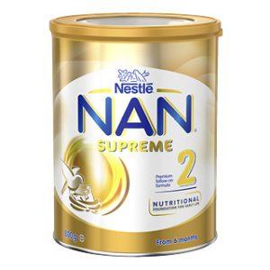 Sữa Nan Supreme Úc 2 (6-12m) lon 800gr