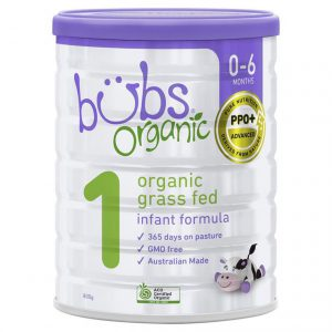 Sữa bò Bubs Organic 800g số 1 (0-6m)