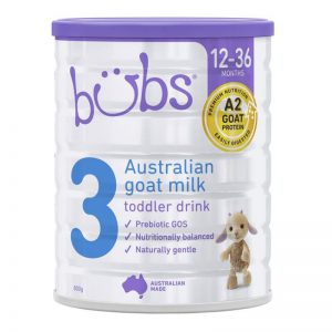 Sữa dê Bubs 800g số 3 (12-36m)