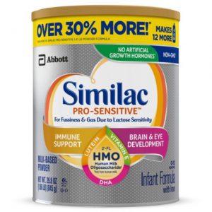 Similac Pro Sensitive lon 845gr