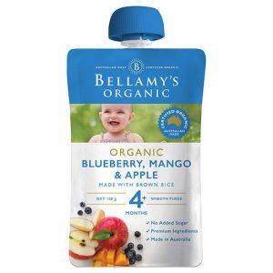 Túi trái cây Bellamy organic 4m việt quất