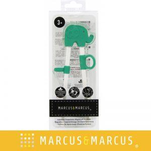 Đũa tập ăn Marcus xanh lá