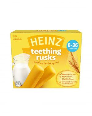 Bánh Quy Cho Trẻ 6-36m Mọc Răng Heinz