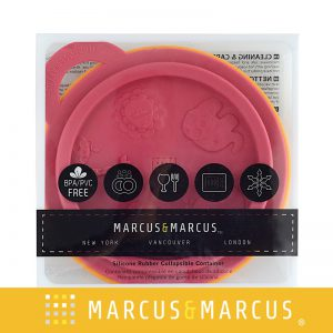 Bát ăn dặm xếp gọn hồng Marcus