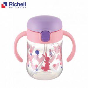Bình ống hút Richell TLI 7m hồng