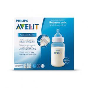 Bình sữa chống đầy hơi Avent 330ml