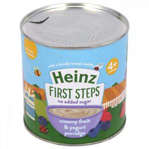 Bột Heinz 4m sữa chua trái cây 240g