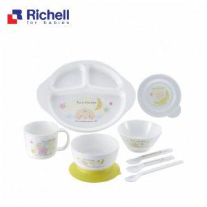 Bộ đồ ăn trẻ em Richell