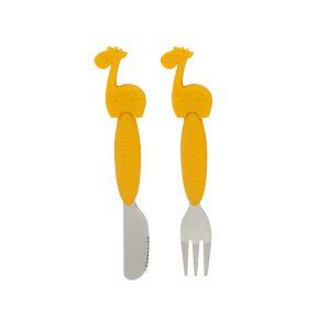 Bộ thìa nĩa Marcus cán dài 3+ vàng
