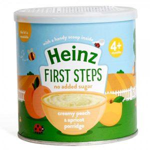 Bột Heinz 4m kem mơ đào 240g