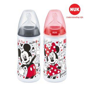 Bình sữa Nuk nhựa PP Mickey Mouse 300ml