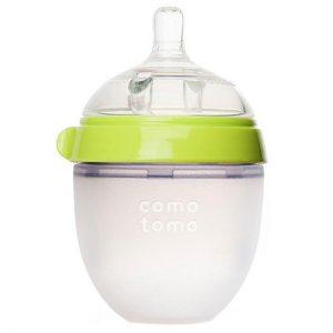 Bình sữa Silicone Comotomo xanh 150ml