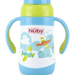 Bình uống nước giữ nhiệt Inox Nuby 280ml