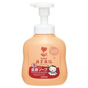 Bọt tắm gọi thảo mộc Arau Baby 450ml