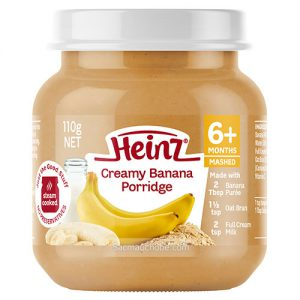 Cháo kem chuối Heinz