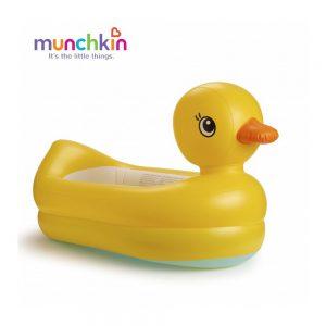Chậu tắm phao vịt vàng Munchkin