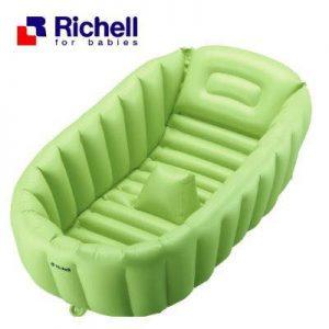 Chậu tắm phao Richell xanh lá