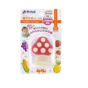 Gặm nướu silicone nấm có hộp Richell
