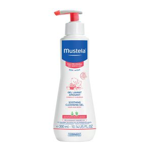 Gel tắm gội Mustela da rất nhạy cảm 300ml