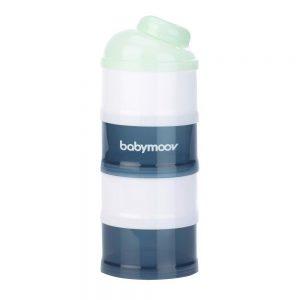 Hộp chia sữa Babymoov xanh