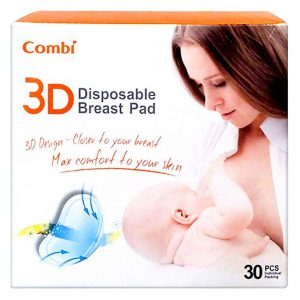 Miếng lót thấm sữa 3D Combi 30pcs