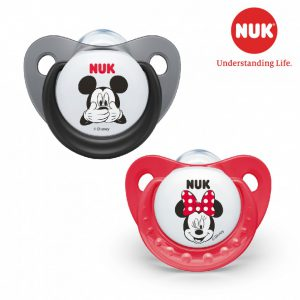 Set 2 ty giả Nuk Mickey Mouse 0-6m