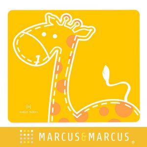 Thảm ăn dặm sillicon Marcus vàng