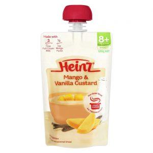 Váng sữa túi Heinz xoài 8m