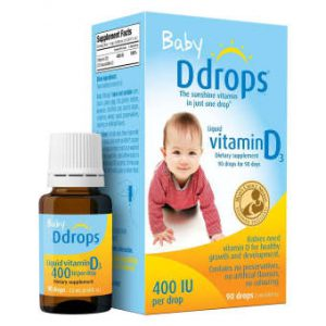 Vitamin D drops Baby 90 day